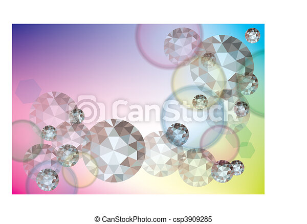 Abstract shine background  - csp3909285