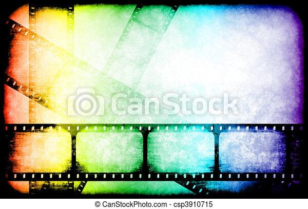 Movie Industry Highlight Reels - csp3910715