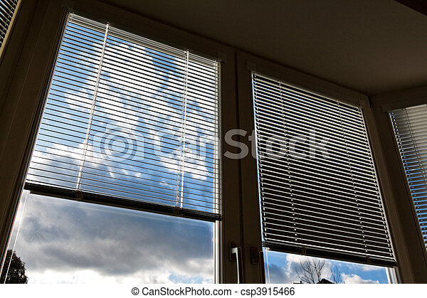 Window blinds for sun protection, heat protection - csp3915466