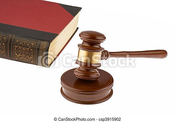 Court Hammer - csp3915902