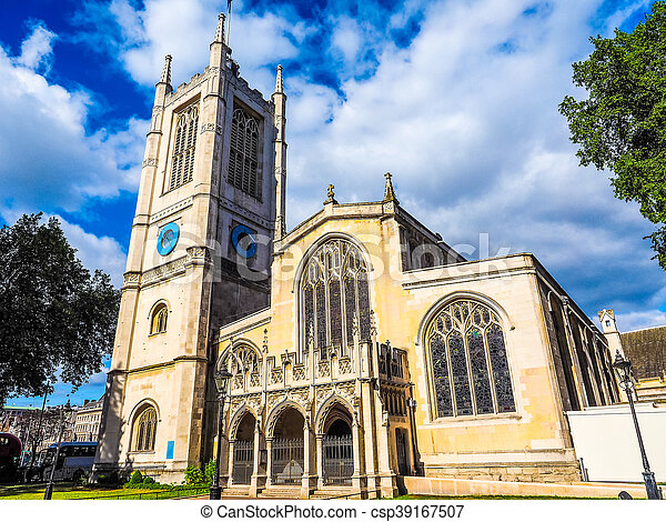 St Margaret Church in London HDR - csp39167507