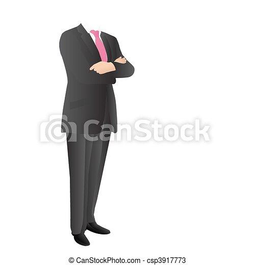 Man in suit - csp3917773