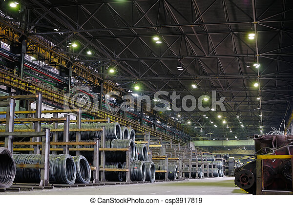 industrial metallurgical storehouse - csp3917819