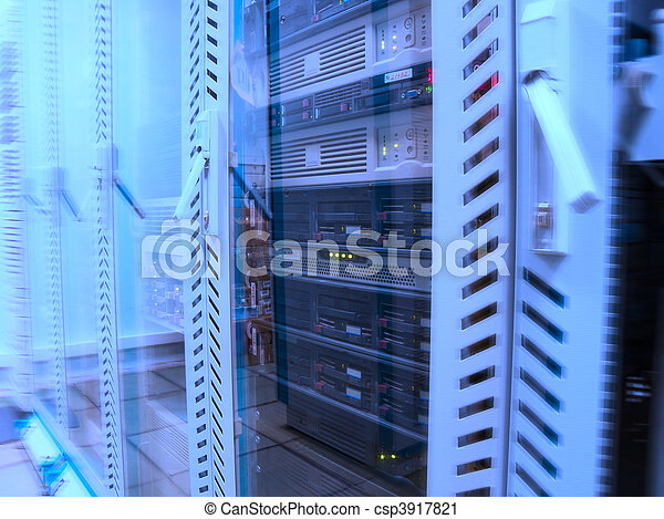 Servers in the data centre - csp3917821