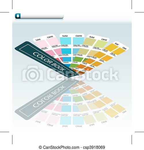 Color Guide Chart - csp3918069