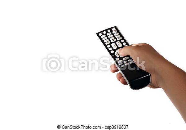 TV Remote Control - csp3919807