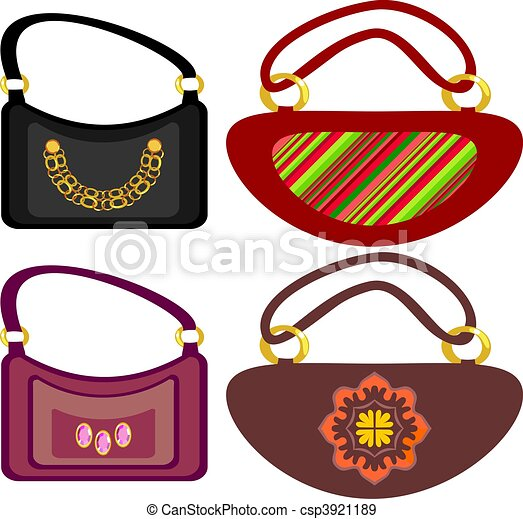 women\\\'s footwear and handbag  - csp3921189