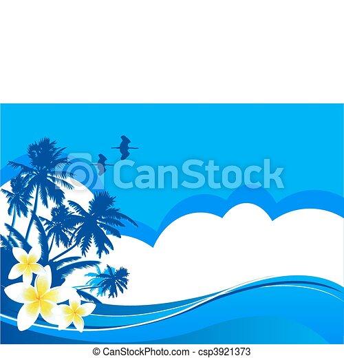 Summer vacation - csp3921373