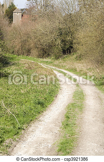 Path to religion - csp3921386