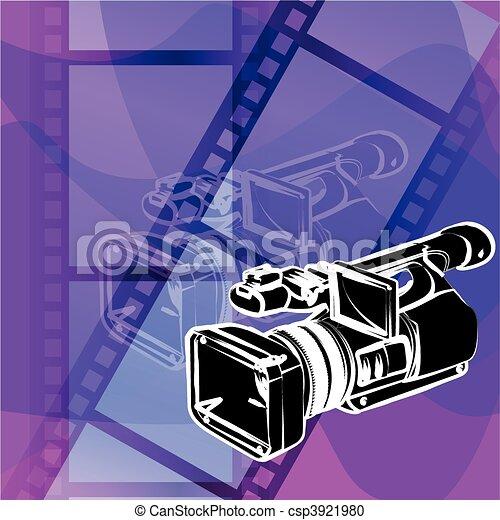 video camera - csp3921980