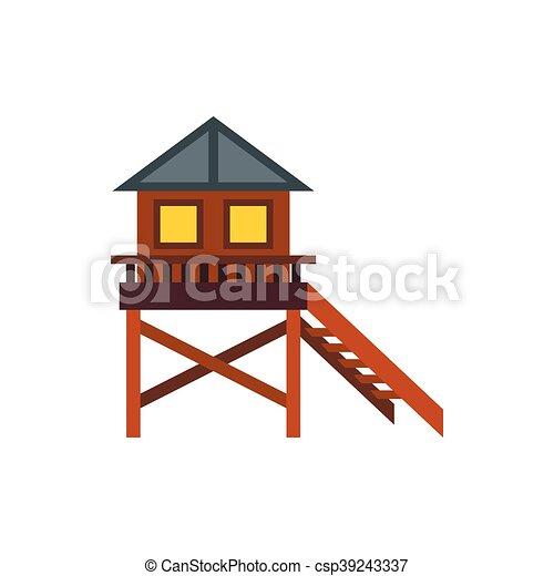 Vettori di appartamento stile trampolo legno casa for Piani di casa in stile ranch gratis