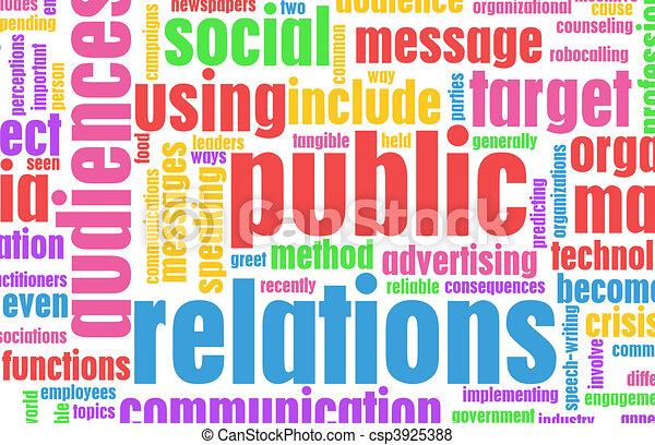 Public Relations - csp3925388