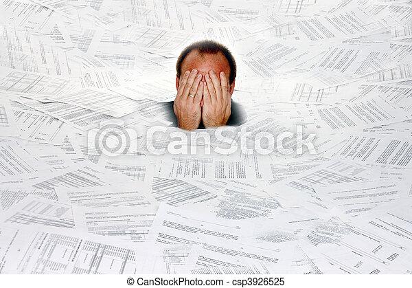 Symbol bureaucracy - csp3926525