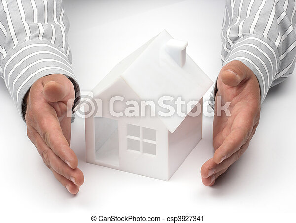 Real property or insurance concept - csp3927341