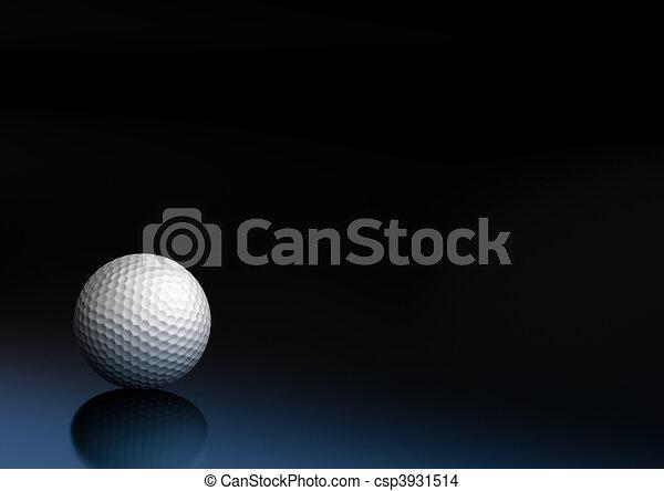 sport equipment golf ball - csp3931514
