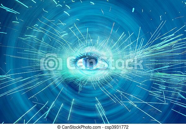 Spiritual Eye - csp3931772
