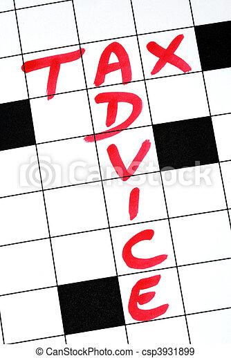 書きなさい, アドバイス, 税, 言葉 - csp3931899