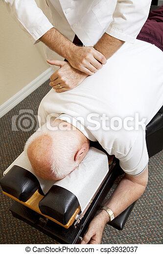 Chiropractic Medicine - csp3932037