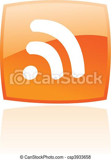 Orange rss - csp3933658