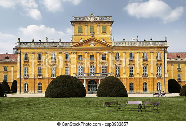Palace of  Esterhazy - csp3933857