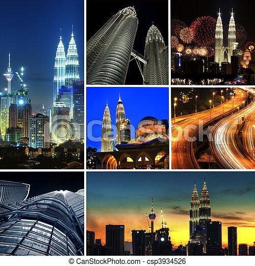 Kuala Lumpur Malaysia - csp3934526