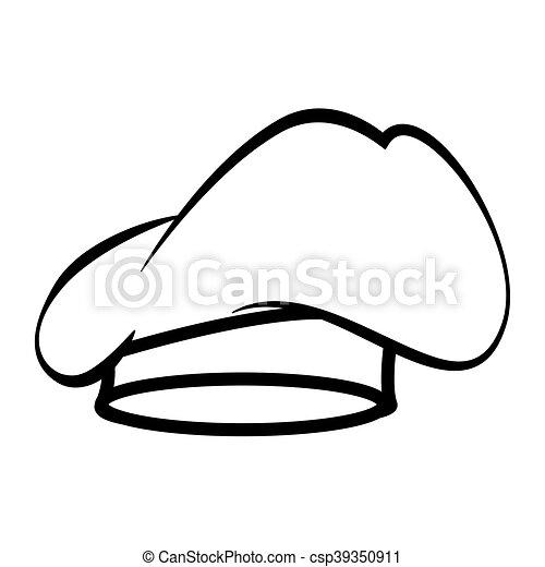 chef hat kitchen - csp39350911