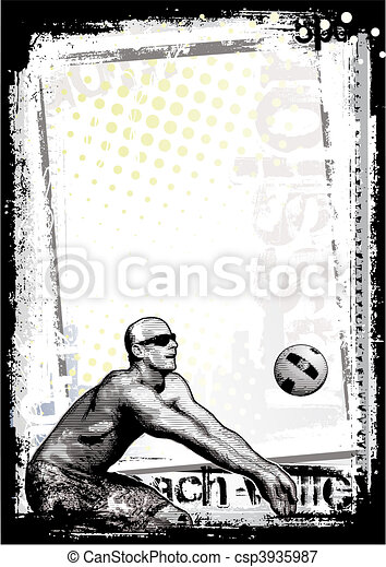 beach volley - csp3935987