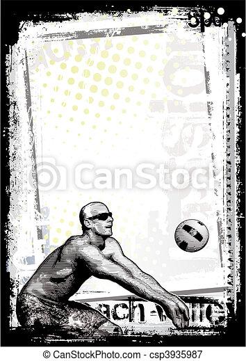 beach volley - csp3935987