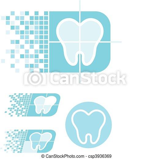 dental care logo - csp3936369