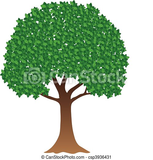 Green tree - csp3936431