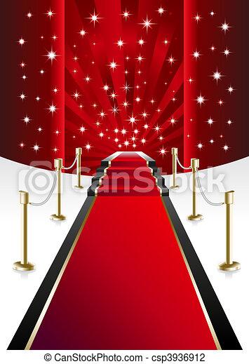Red Carpet - csp3936912