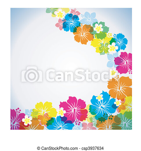 Abstract tropical background - csp3937634