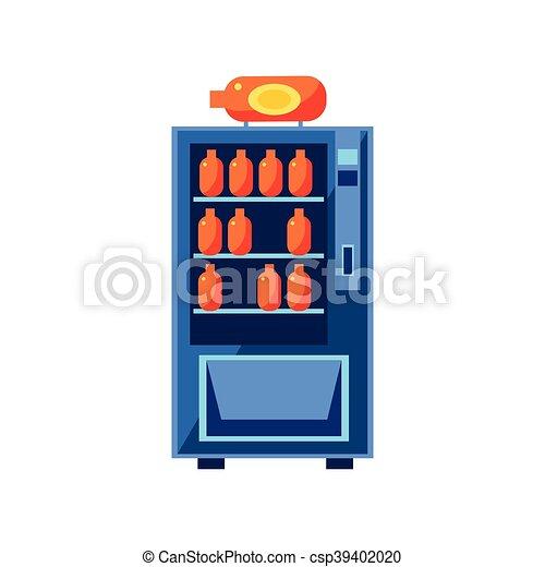 Soft Drink Machine Clip Art