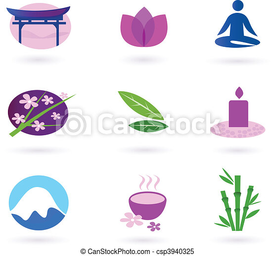 Wellness, asia, relaxation and spa  - csp3940325