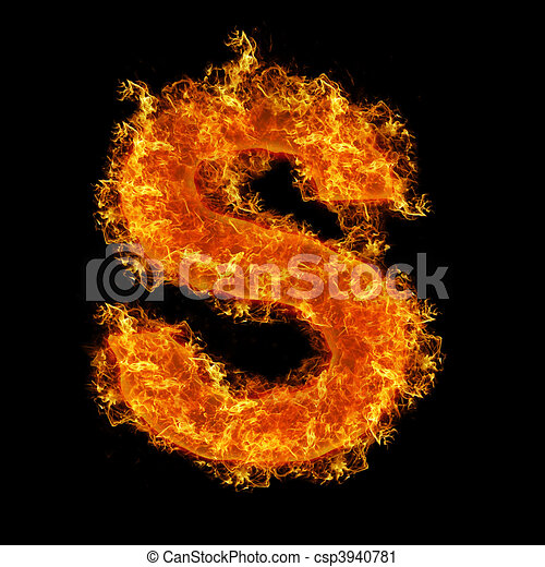 Fire burning alphabet letter s Stock Photos and Images. 56 Fire ...