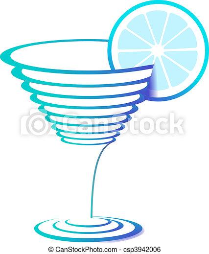 Illustration de verre cocktail cocktail verre - Dessin cocktail ...