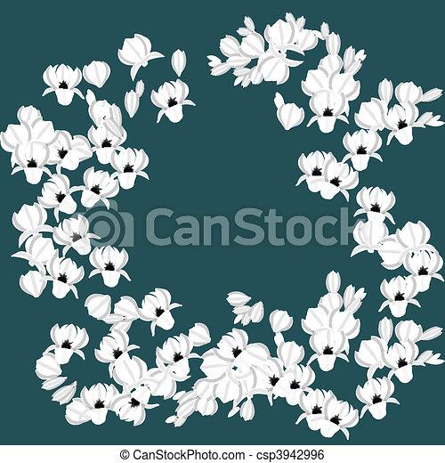 witte achtergrond tekening bloemen - photo #25
