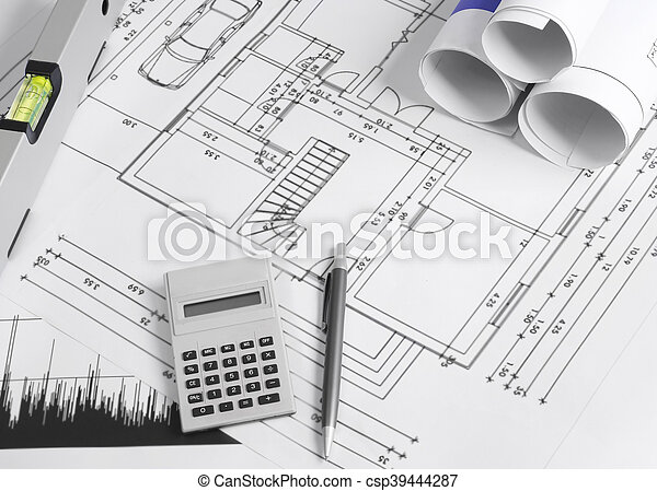 Housing development - csp39444287