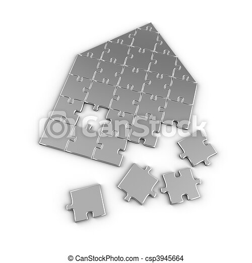 Real Estate Puzzle - csp3945664