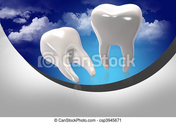 Teeth - csp3945671