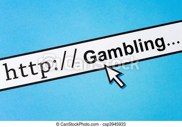 Online Gambling - csp3945933