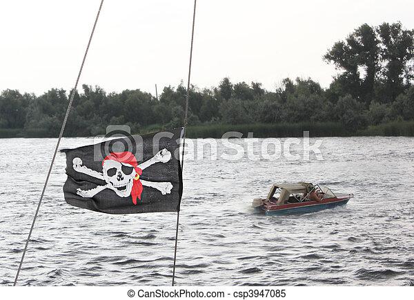 Pirate flag - csp3947085