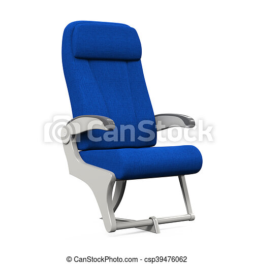 Airplane Seats Isolated - csp39476062
