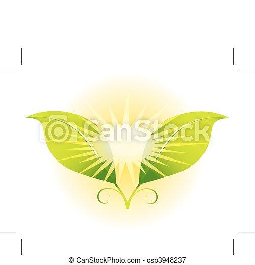 Sunshine Leaves - csp3948237