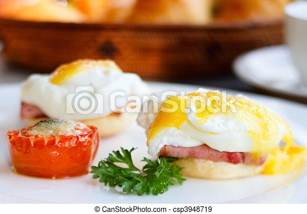 Delicious breakfast - csp3948719