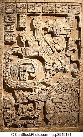 メキシコ人, コロンビアの前の, 芸術 - csp3949171