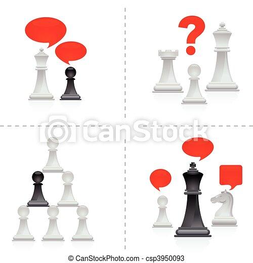 Chess metaphors - 3 - csp3950093
