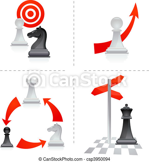 Chess metaphors - 2 - csp3950094
