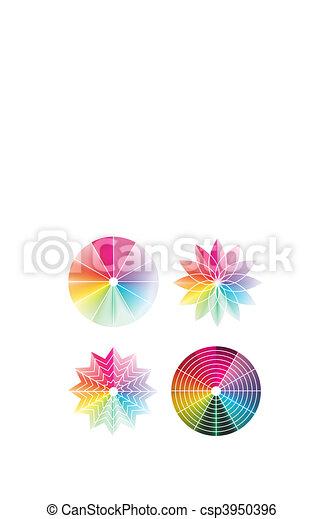 Color wheel  - csp3950396