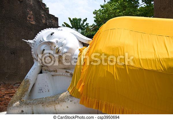 The Reclining buddha - csp3950694